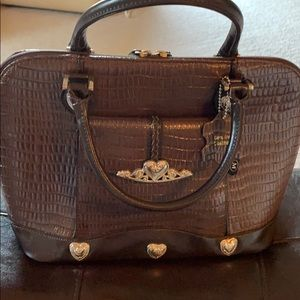 Handbags - Brown Brighton inspired purse